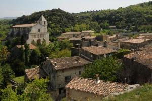 France, le village de Saignon en Provence