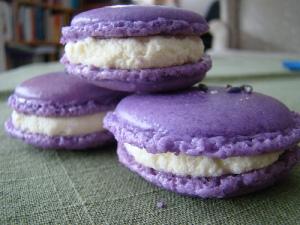 macarons lavende