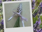 Christmas idea gift - lavender spindle