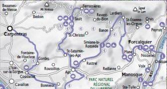 MAP VENTOUX